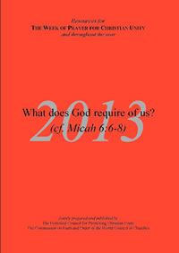 2013 Week of Prayer (Cover)