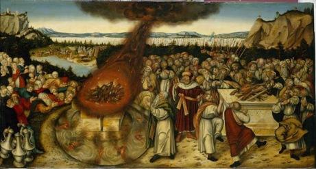 Elijah and the Priests of Baal