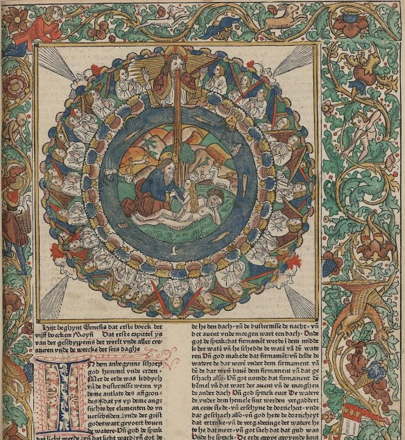 2013-1204 Stamp.Ross.283 Biblia. Tedesco.   c. 1478