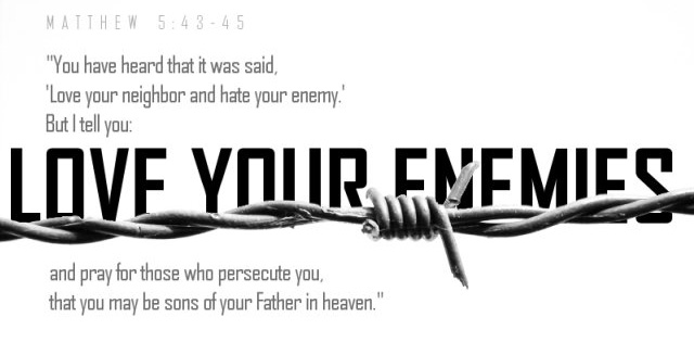 Matthew 5:43ff