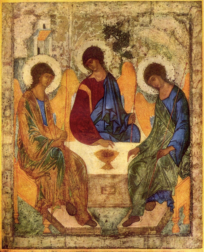 Holy Trinity. Icon. Andrei Rublev.