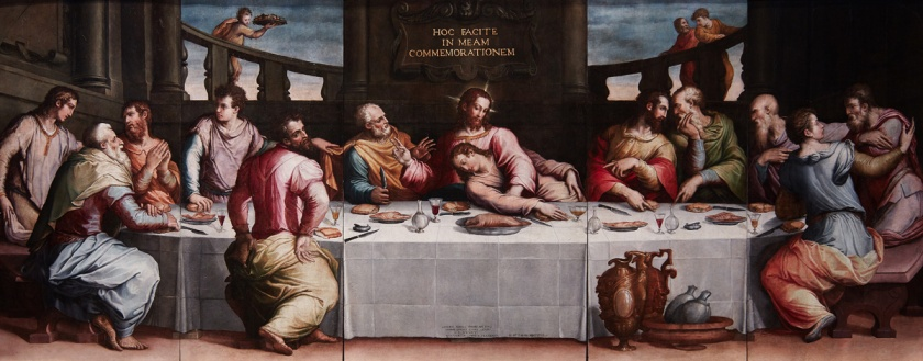 The Last Supper. Giorgio Vasari