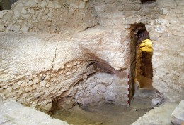 Excavation site in Nazareth