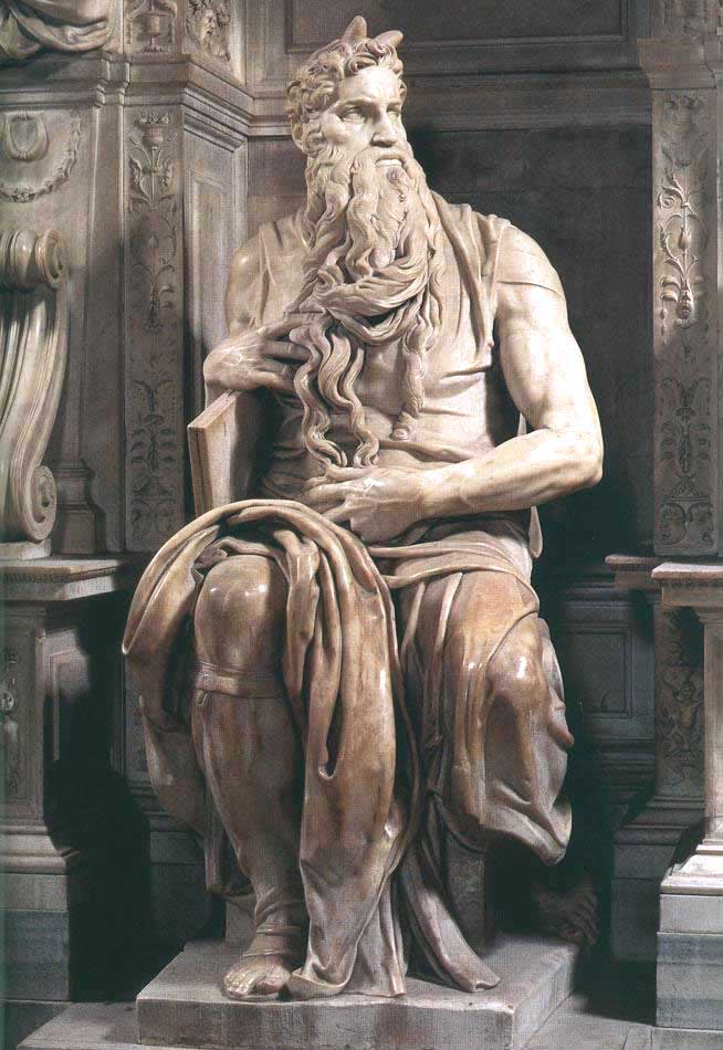 Moses by Michaelangelo