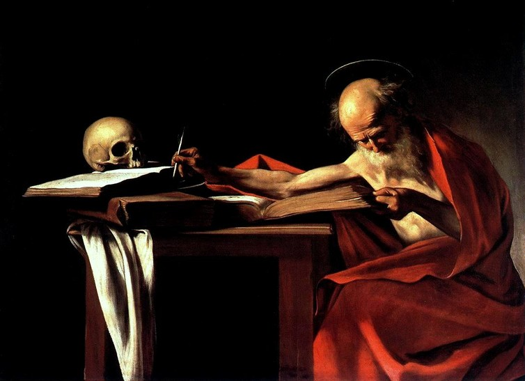 Saint Jerome at work